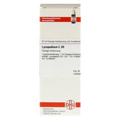 LYCOPODIUM C 30 Dilution 50 Milliliter - Vorderseite