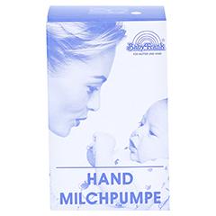 MILCHPUMPE FRANK Hand m.Auffangbeh.Glas m.Abl. 1 Stück - Vorderseite