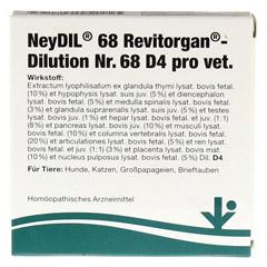 NEYDIL Nr.68 Revitorgan Dil.D 4 pro Ampullen vet. 5x2 Milliliter - Vorderseite