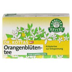 DR.KOTTAS Orangenblütentee Filterbeutel 20 Stück - Vorderseite