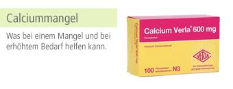 Calciummangel Themenshop