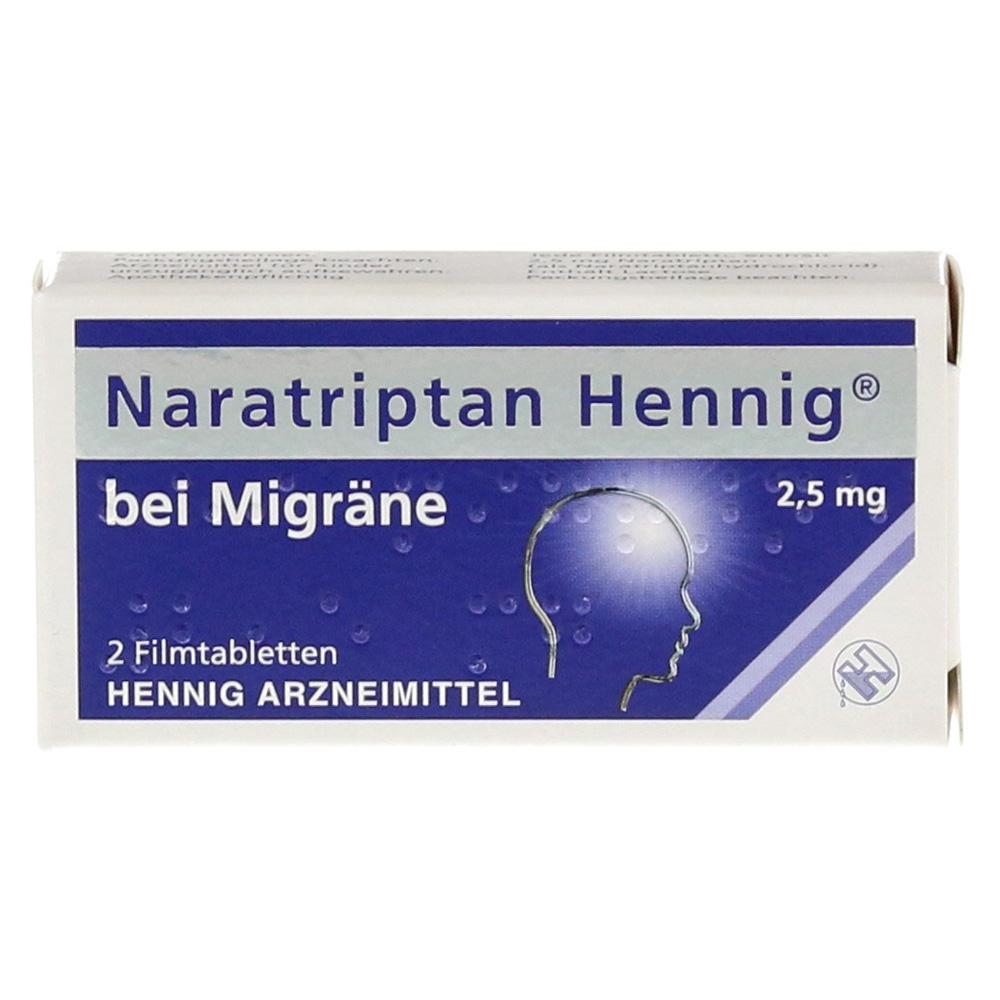 Erfahrungen zu Naratriptan Hennig bei Migräne 200,200mg 200 Stück N20 ...