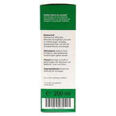 HEALTHY NATURE Anti-Schuppen Lösung 200 Milliliter - Linke Seite