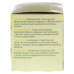 SIDROGA Wellness heiße Zitrone Filterbeutel 20 Stück - Linke Seite