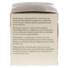 SIDROGA Wellness Entspannungstee Filterbeutel 20 Stück - Linke Seite