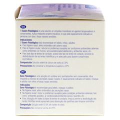 ALVITA physiologische Kochsalzlösung Ampullen 30x5 Milliliter - Linke Seite