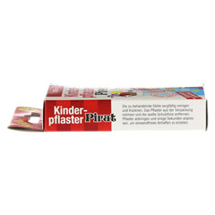 KINDERPFLASTER Pirat 10 Stück - Linke Seite