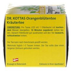 DR.KOTTAS Orangenblütentee Filterbeutel 20 Stück - Linke Seite