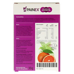MAGNESIUM MIT Vitamin C PAINEX 20 Stück - Rückseite