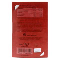 ROTER GINSENG 400 mg 8% von Terra Mundo Kapseln 20 Stück - Rückseite