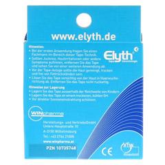 KINESIOLOGIE Tape Elyth 5 cmx5 m blau 1 Stück - Rückseite