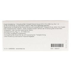BRONCHI GL D 12 Ampullen 10x1 Milliliter N1 - Rückseite