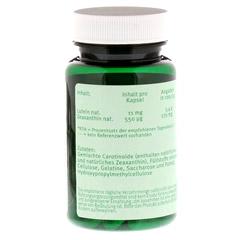 LUTEIN 11 mg Kapseln 60 Stück - Rückseite