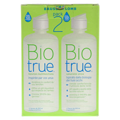 BIOTRUE All in one Lösung 2x300 Milliliter - Rückseite