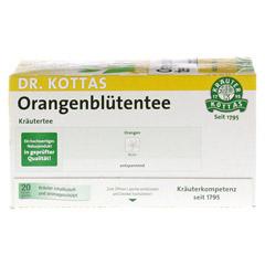 DR.KOTTAS Orangenblütentee Filterbeutel 20 Stück - Rückseite