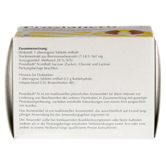 PROSTAHERB N traditionell überzogene Tabletten 200 Stück - Oberseite