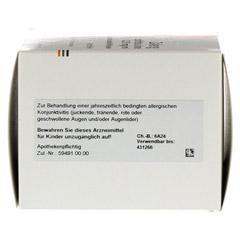 Zalerg ophtha sine 0,25mg/ml Augentropfen 50 Stück N3 - Unterseite