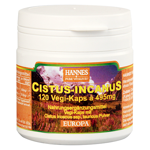 CISTUS INCANUS Vegi-Kaps 400 mg 120 Stück