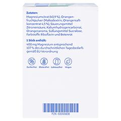 MAGNESIUM DIASPORAL 400 Extra Trinkgranulat 50 Stück - Linke Seite