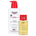 EUCERIN pH5 Lotion empfindliche Haut m.Pumpe + gratis Eucerin pH5 Duschöl 100 ml 400 Milliliter
