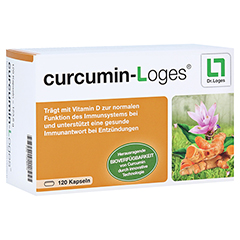 CURCUMIN-Loges Kapseln 120 Stück