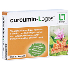CURCUMIN-LOGES Kapseln 60 Stück