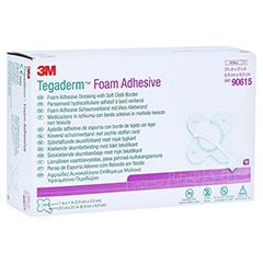 TEGADERM Foam Adhesive 6,9x6,9 cm kreuzform 90615 10 Stück