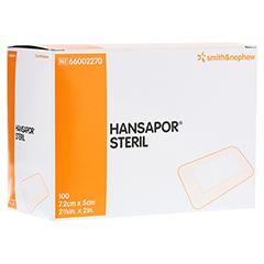 HANSAPOR steril Wundverband 5x7,2 cm 100 Stück