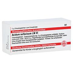 LM ACIDUM sulfuricum VI Globuli 5 Gramm N1