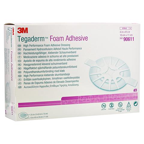 TEGADERM 3M Foam Adhesive 10x11 cm oval 90611 10 Stück