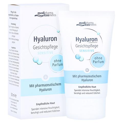 HYALURON GESICHTSPFLEGE sensitive Creme 50 Milliliter