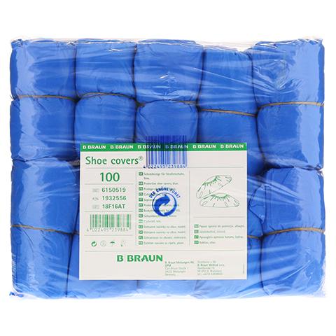 BEEM Schutzbezüge f.Straßenschuhe blau 100 Stück