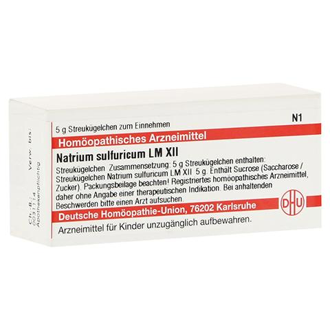 LM NATRIUM sulfuricum XII Globuli 5 Gramm N1