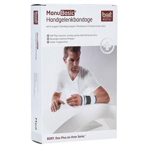 BORT ManuBasic Bandage rechts small haut 1 Stück