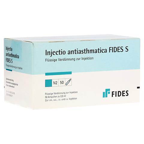 INJECTIO antiasthmatica Fides S Ampullen 50 Stück N2