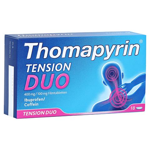 Thomapyrin TENSION DUO 400mg/100mg 18 Stück N2