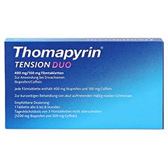 Thomapyrin TENSION DUO 400mg/100mg 18 Stück N2 - Rückseite