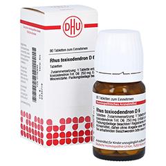 RHUS TOXICODENDRON D 6 Tabletten 80 Stück N1