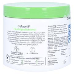 Cetaphil Feuchtigkeitscreme + gratis Cetaphil Reinigungslotion 29 ml 456 Milliliter - Rückseite
