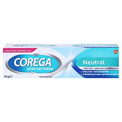 Corega Ultra Haftcreme geschmacksfrei 40 Gramm - Vorderseite