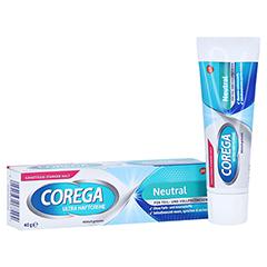 Corega Ultra Haftcreme geschmacksfrei 40 Gramm