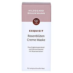 Hildegard Braukmann EXQUISIT Rosenblüte Creme Maske 30 Milliliter - Vorderseite