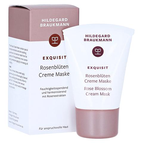 Hildegard Braukmann EXQUISIT Rosenblüte Creme Maske 30 Milliliter