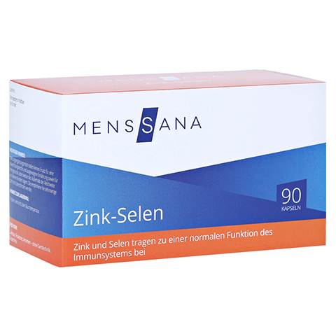 ZINK SELEN MensSana Kapseln 90 Stück