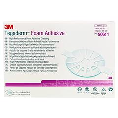 TEGADERM 3M Foam Adhesive 10x11 cm oval 90611 10 Stück - Vorderseite