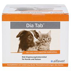 DIA TAB Kautabletten f.Hunde/Katzen 60x5.5 Gramm - Vorderseite
