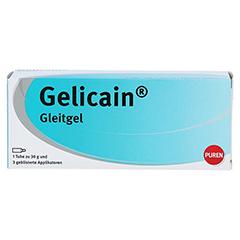 GELICAIN Gleitgel 30 Gramm - Vorderseite