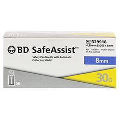 BD SAFE Assist Sicherheits-Pen-Nadel 30 Gx 8 mm 50 Stück - Vorderseite