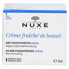NUXE Creme fraiche de beaute 48h Feuchtigkeitscreme 50 Milliliter - Vorderseite