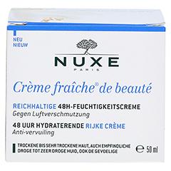 NUXE Creme fraiche de beaute Reichhaltige 48h Feuchtigkeitscreme 50 Milliliter - Vorderseite